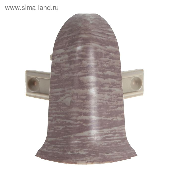 Угол наружный для плинтуса (D) текстура (545 Дерево африканское )