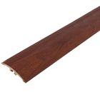 Порог ПВХ Идеал одноуровневый с дюбель-гвоздями 36 мм (0,9м) (341 ольха)