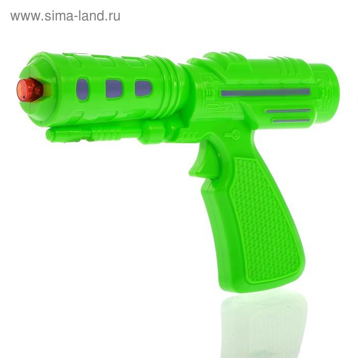 """Пистолет """"Супер пушка"""", световые и звуковые эффекты, работает от батареек, цвета МИКС"""
