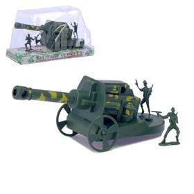 "Пушка ""Гаубица"" с солдатами"