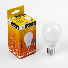 Лампа светодиодная Ecola, Е27, 7 Вт, 4000 K
