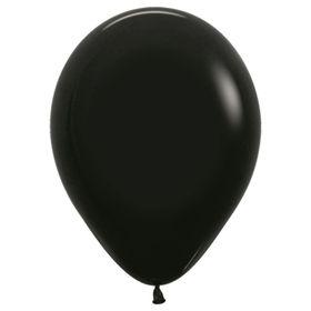 """Шар латексный 12"""", пастель, набор 100 шт., цвет чёрный"""