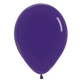 """Шар латексный 12"""", кристалл, набор 100 шт., цвет фиолетовый"""