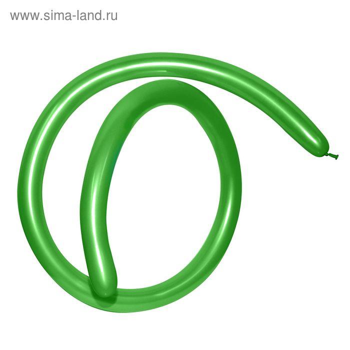 Шар для моделирования 260, металл, набор 100 шт., цвет светло-зелёный