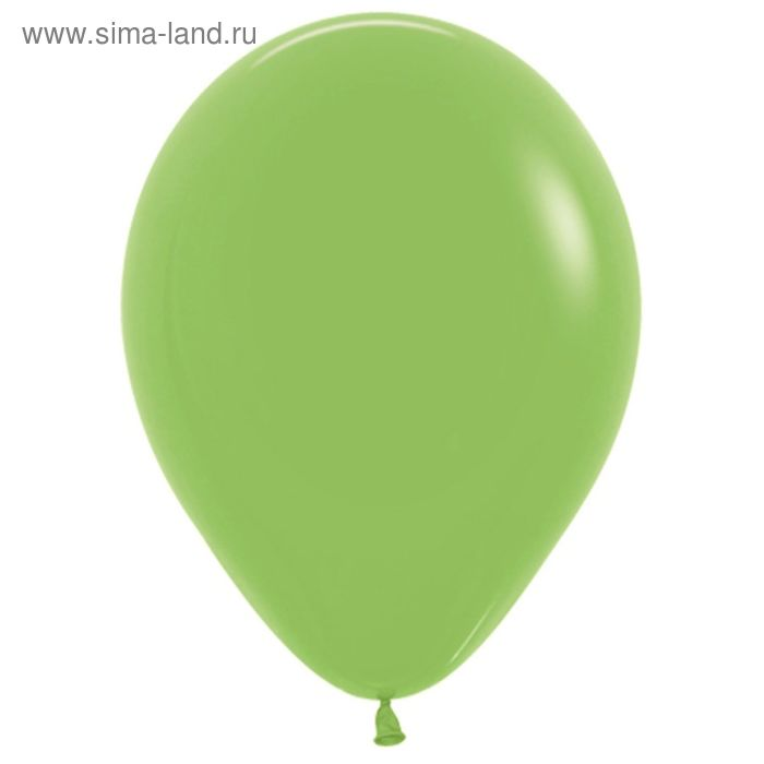 """Шар латексный 12"""", пастель, набор 100 шт., цвет светло-зелёный"""