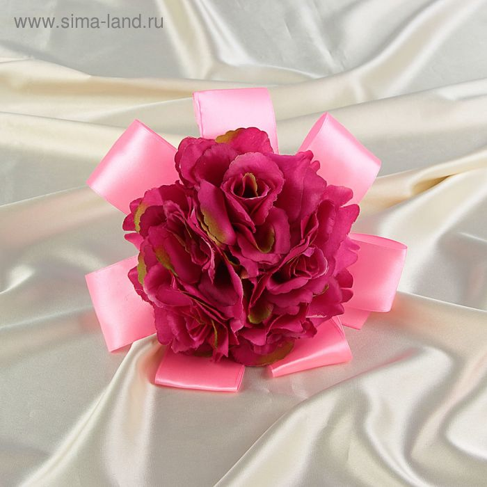 Букет-дублер невесты  бордовые цветы