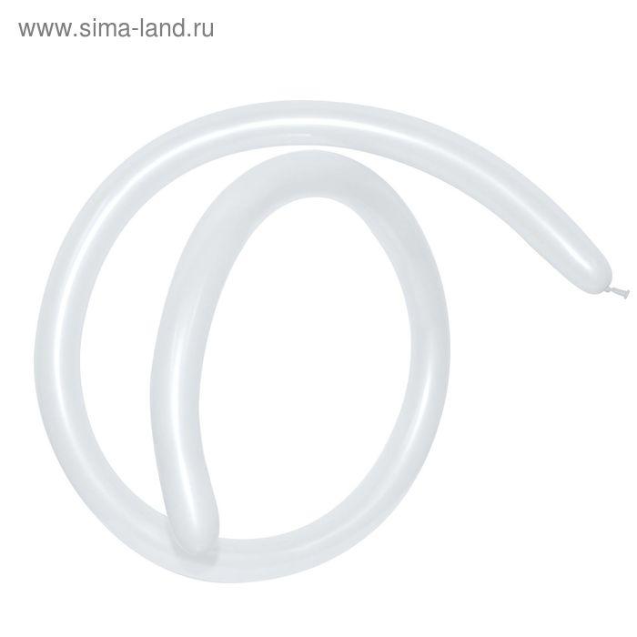Шар для моделирования 260, перламутр, набор 100 шт., цвет белый
