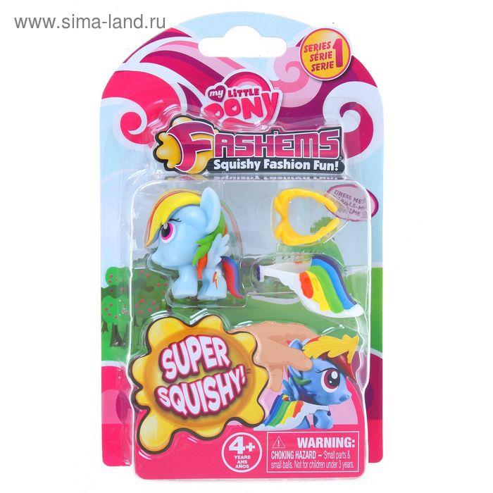 """Игровой набор """"Мой маленький Пони"""": игрушка-мялка с аксессуарами, МИКС"""