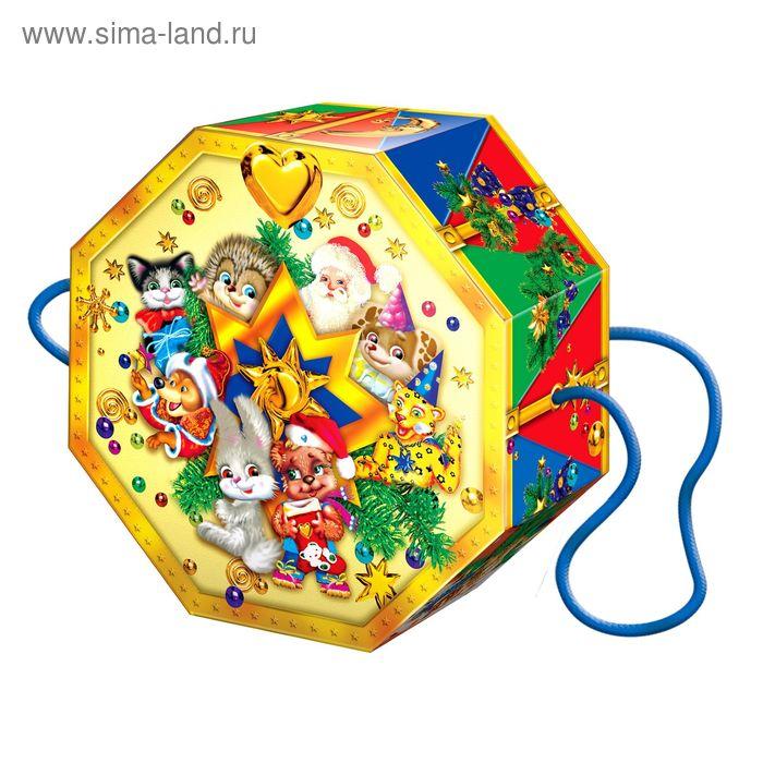 """Подарочная коробка """"Волшебный барабан"""", сборная, 22х8х16см"""