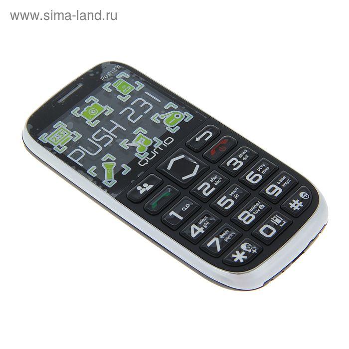 "Мобильный телефон QUMO Push 231 2,3""LCD/1SIM/MicroSD/Bluetooth/MP3/MP4/чёрный"