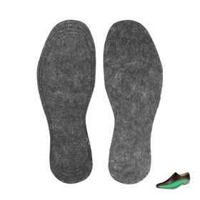 Стельки для обуви войлочные, универсальные, пара
