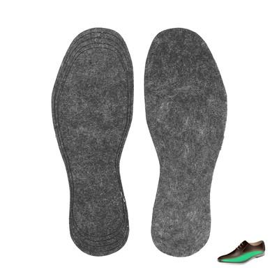 Стельки для обуви, универсальные, 36-45р-р, пара, цвет чёрный
