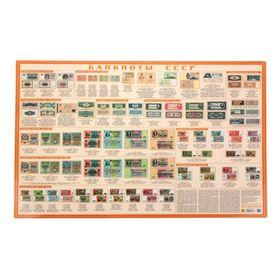 Настольное справочное издание. Банкноты СССР, 59х43см Ош