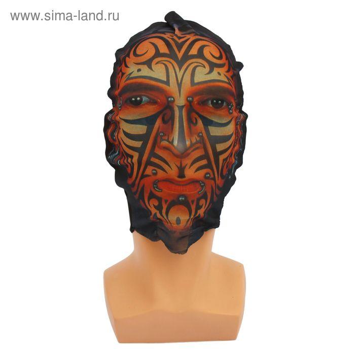 "Карнавальная маска - чулок ""Пирсинг"""