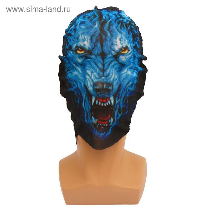 "Карнавальная маска - чулок ""Волк"""