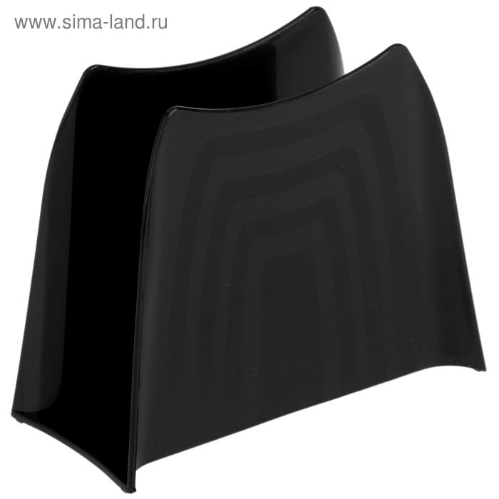 Салфетница Solo, цвет черный