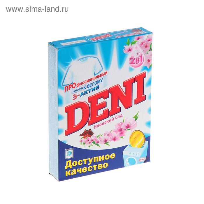 """Порошок стиральный Deni автомат """"Японский сад"""" 2в1 400г"""