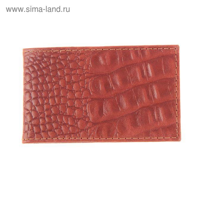 Кредитница, 1 ряд, на 36 карточек, матовая, кайман коричневый