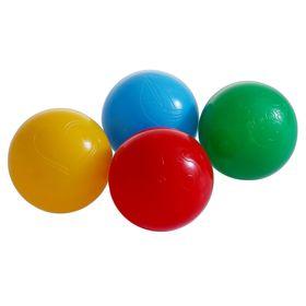 Шарики для сухого бассейна с рисунком, диаметр шара 7,5 см, набор 4 шт.