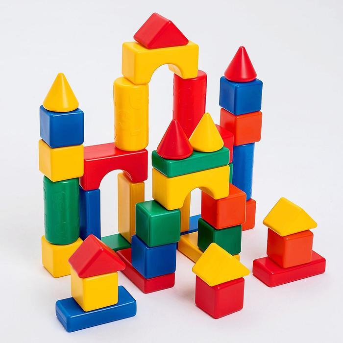 Строительный набор, 41 элемент 6 х 6 см
