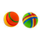 Мяч диаметр 150 мм с полосой, цвета МИКС