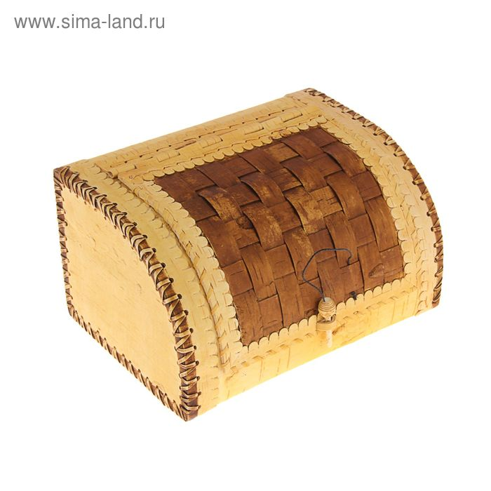 "Хлебница-шлем ""Плетеная"" на 1 булку , 27 х 23 х 17 см"