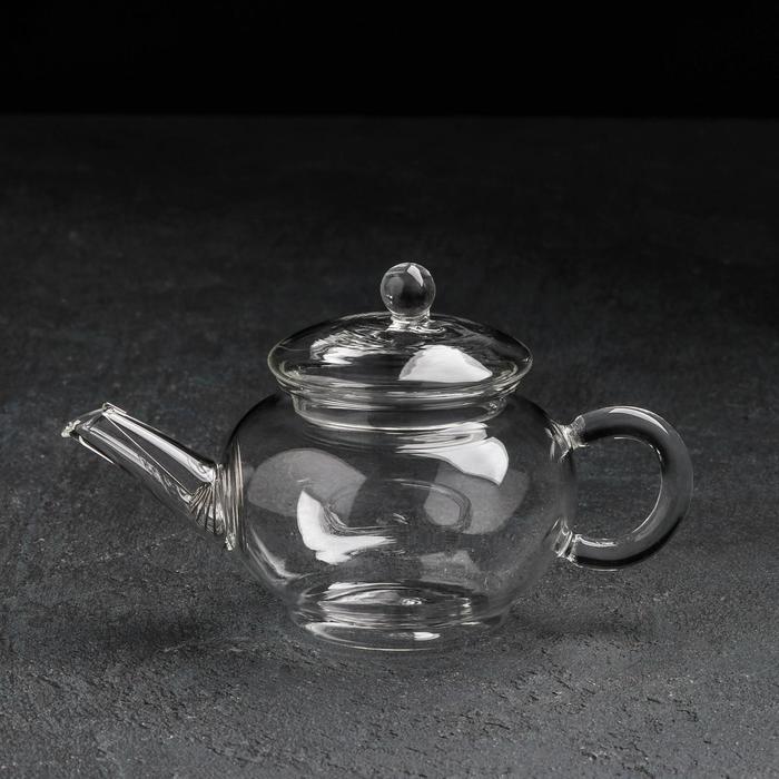"""Чайник заварочный со стеклянным ситом """"Клео"""" 250 мл"""
