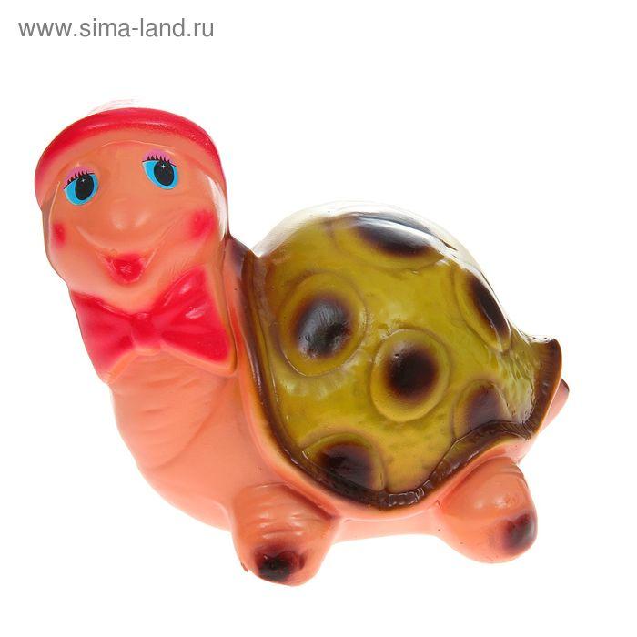 """Садовая фигура """"Мультяшная черепаха Абрахам"""""""