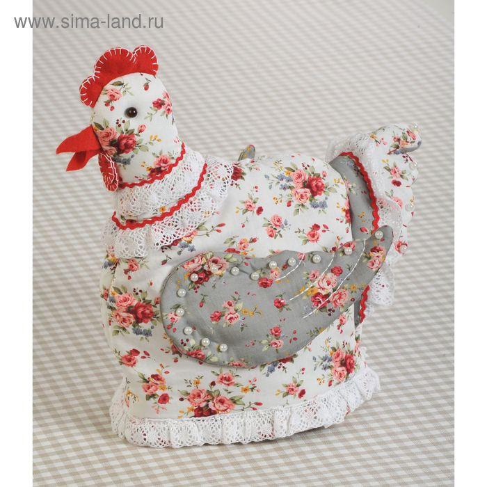"""Набор для изготовления текстильной игрушки """"Грелка на чайник Курица"""""""