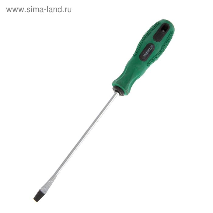 Отвертка шлицевая TUNDRA basic, SL 5.7х150 (-), двухкомпонентная рукоятка