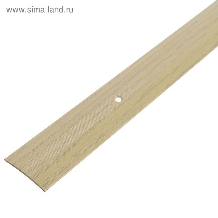 Порог одноуровневый 38 мм (180) клён
