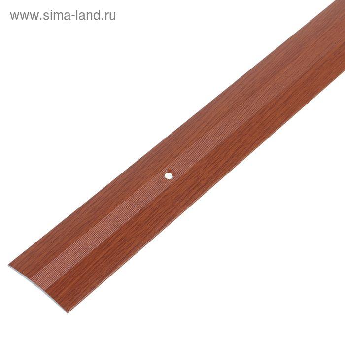 Порог одноуровневый 38 мм (90) вишня