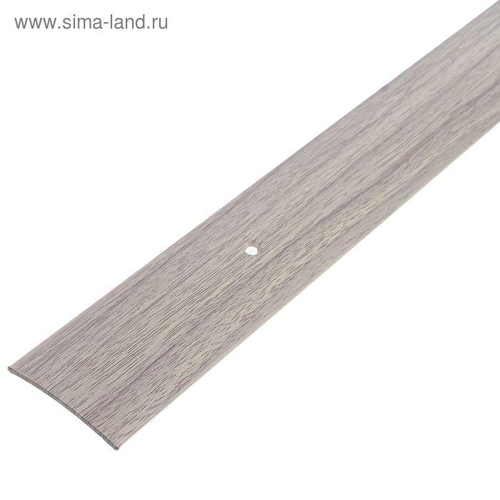 Порог одноуровневый 45 мм (180) дуб белёный