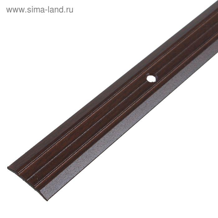 Порог одноуровневый 25 мм (180) венге