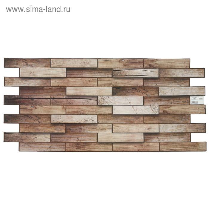 Панель ПВХ Дерево Орех 980*480