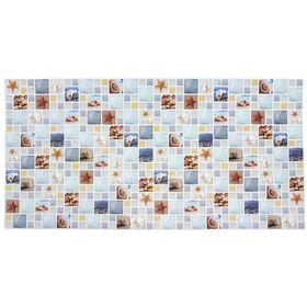 Панель ПВХ Мозаика Лагуна Арт камень 955*480