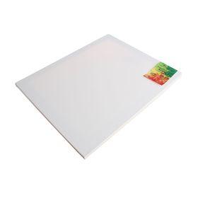 Холст на подрамнике хлопок 100% акриловый грунт 2*50*60 см мелкозернистый, 210г/м²