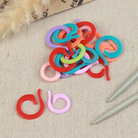 Набор маркеров для петель, 20шт (10 маленьких+10 больших), цвет МИКС Ош