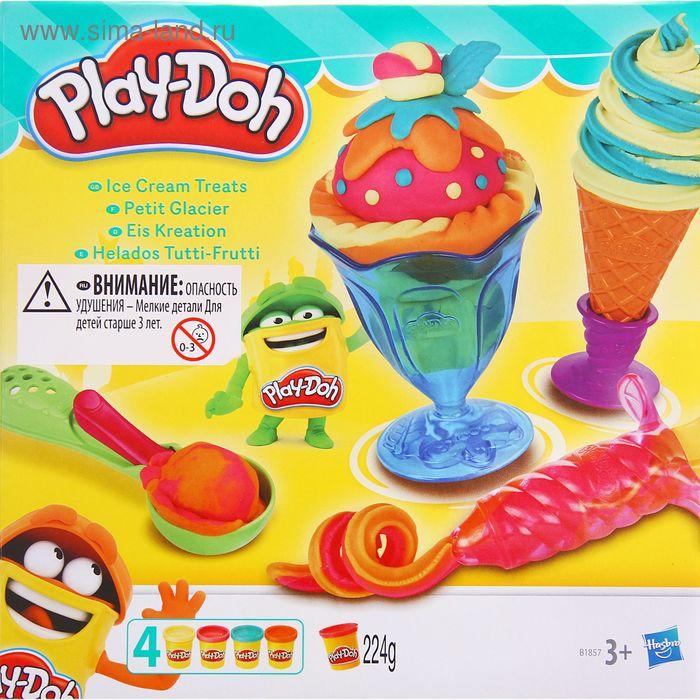 """Игровой набор для лепки """"Инструменты мороженщика"""""""