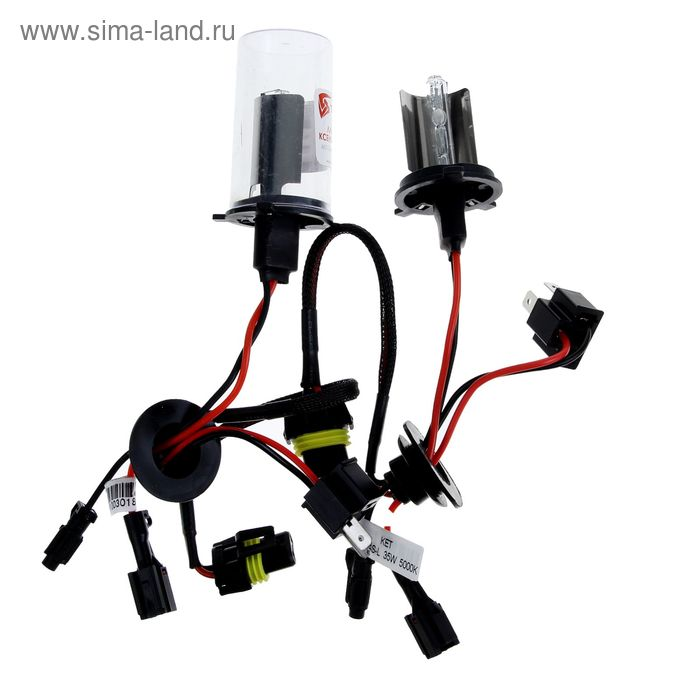 Комплект ксеноновых ламп TORSO H4S-L, для блоков AC, 12 В, 5000 К, 2 шт.