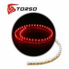 Светодиодная линейка TORSO, автомобильная, 48LED, 48 см, 12 В, IP68, свет красный