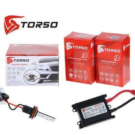 Комплект ксенона TORSO, блок розжига DC Slim, 35 Вт, 12 В, цоколь H8, 4300 К