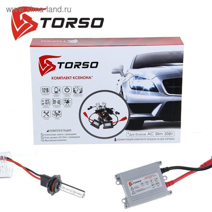 Комплект ксенона TORSO, блок розжига AC Slim, 35 Вт, 12 В, цоколь HB4(9006), 5000 К