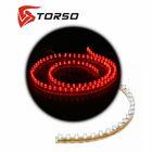 Светодиодная линейка TORSO, автомобильная, 96LED, 96 см, 12 В, IP68, свет красный