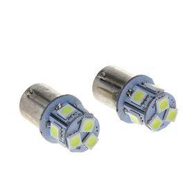 Комплект светодиодных ламп TORSO P21/W, 12 В, 8 SMD-5050, 2 шт., свет белый