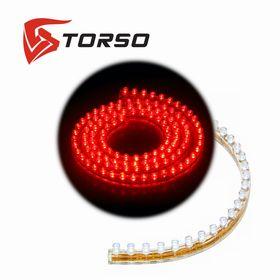 Светодиодная линейка TORSO, 120LED, 120 см, 12 В, IP68, свет красный