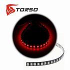 Светодиодная линейка TORSO, 30LED-SMD5050, 30 см, 12 В, IP65, 7.2 Вт, свет красный