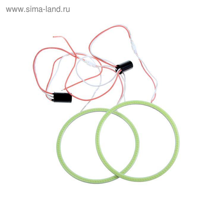 Светодиодное кольцо TORSO МС-АЕ-3, LED-COB 90 мм, 2 шт., свет белый