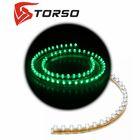 Светодиодная линейка TORSO, автомобильная, 72LED, 72 см, 12 В, IP68, свет зелёный