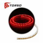 Светодиодная линейка TORSO, автомобильная, 72LED, 72 см, 12 В, IP68, свет красный
